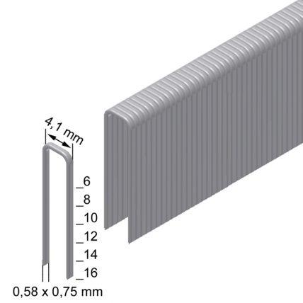 Скоба оббивочна типу TK