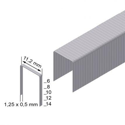Скоба оббивочна типу PB